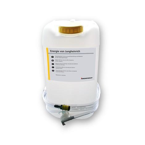 Doplňovací nádoba Jungheinrich pro systém doplňování destilované vody Aquamatik