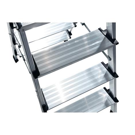Doppel-Klapptritt KRAUSE ®. 2 x 3 oder 4 Stufen. Standhöhe bis 900 mm
