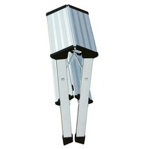 Doppel-Klapptritt KRAUSE® aus Aluminium