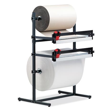 Doppel-Schneidständer für leichte Rollen, max. Rollen-Ø 800mm, max. 130kg