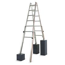 Doppel-Stehleiter HYMER ® für Treppen