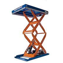 Doppelscheren-Hubtisch Edmolift ®. Tragkraft bis 1500 kg