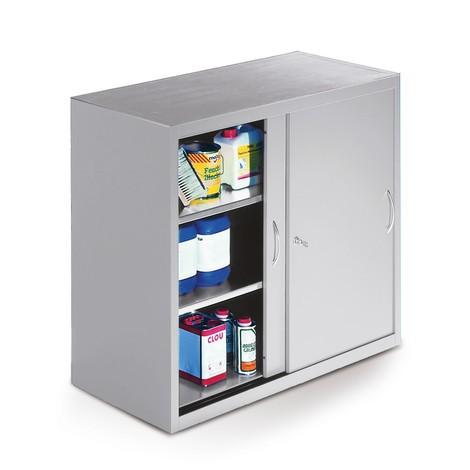 Dostawna szafka warsztatowa C+Pz1 półką, wys. xszer. xgł. 1000 x1200 x400 mm