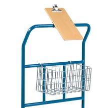 Draadkorf voor kleine onderdelen voor Cash & Carry-wagen