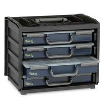 Draagboxset: box inclusief 4 assortimentskoffers Assorter