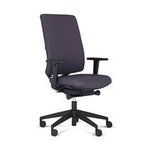 Draaibare bureaustoel MONICO® OS, beklede rugleuning