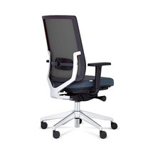 Draaibare bureaustoel MONICO® OS, netrugleuning
