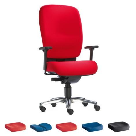 Draaibare bureaustoel PROFI met DIN-zitvlak
