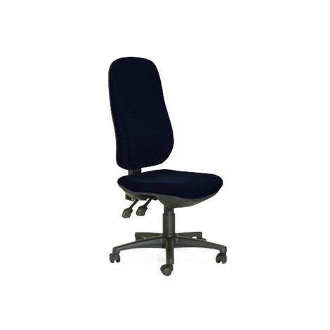 Draaibare bureaustoel XXL, totale hoogte tussen 980 en 1.100 mm