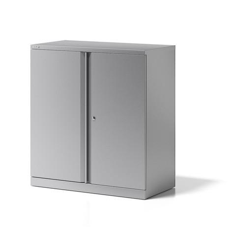 Draaideurkast BISLEY Essentials, 2 ordnerlagen, breedte 914 mm