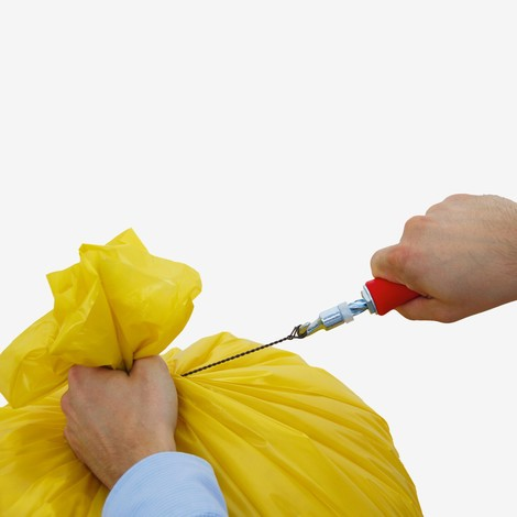 Drahtschlingen für Abfallsäcke
