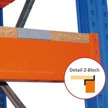 Dřevotříska pro paletový stojan typu S