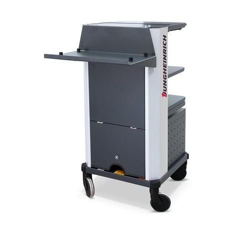 Druckerhalterung für mobilen Arbeitsplatz Jungheinrich