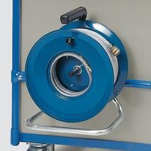 Druckluft-Schlauchaufroller für Werkstattwagen fetra®