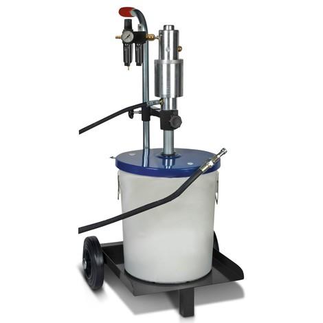 Druckluftbetriebenes Füllgerät für Zentralschmieranlagen SAMOA-HALLBAUER DPZ