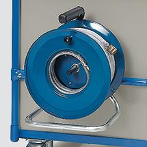 Druckschlauchtrommel für Werkstattwagen fetra®, Tragkraft 400kg