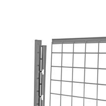 Dubbele schuifdeur voor scheidingswandsysteem TROAX®
