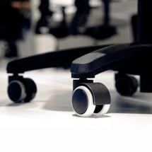 Dubbele wielen voor draaibare bureaustoel prosedia Younico