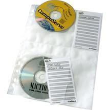 DURABLE CD DVD-Prospekthüllen DIN A4