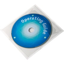 DURABLE CD DVD-Taschen Pocketfix