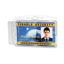 DURABLE hard box for ID passes