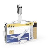 DURABLE Kartenhalter RFID SECURE DUO 60 Stück