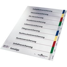 DURABLE Register Versicherung