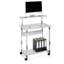 DURABLE SYSTEM COMPUTER TROLLEY 80 VH