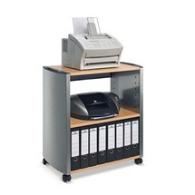 DURABLE wheeled cabinet, open