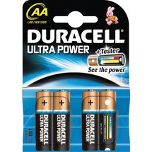 DURACELL® Batterien Ultra Power Alkaline