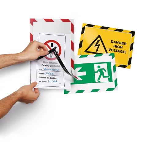DURAFRAME® Security magnetic frame, self-adhesive