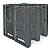 Duży pojemnik zpolietylenu, 1400 l, ztrawersami