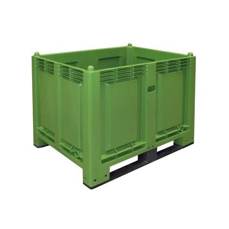 Duży pojemnik zpolipropylenu, 550 l, ztrawersami