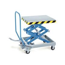 Dvojité nožnicové paletovacie vozíky