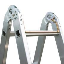 Échelle articulée KRAUSE®, accessible des 2 côtés