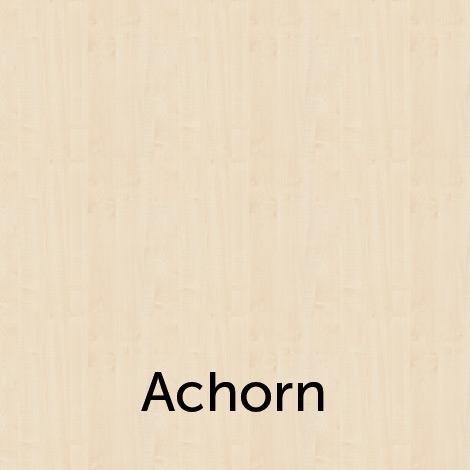 Eckschreibtisch Akzent, rechts/links verwendbar. 4-Fuß