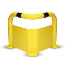Eckschutzbügel mit Unterfahrschutz