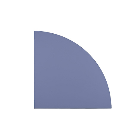 Eckwinkel LE91, 80 x 80 cm; Platte: 25mm dick