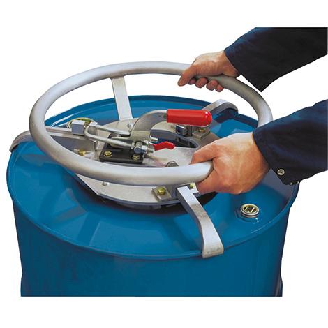 Edelstahl-Fass-Rolli für Stahl- und Kunststofffässer