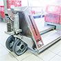 Edelstahl-Hubwagen Jungheinrich AM 20 Inox - Tragkraft 2000 kg, Gabellänge 970 mm oder 1140 mm