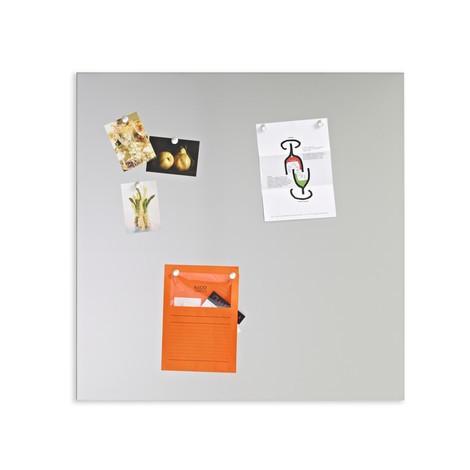 Edelstahl-Magnetwand Premium
