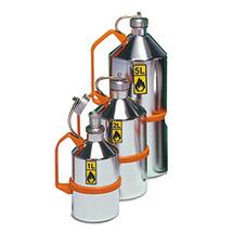 Edelstahl-Sicherheitskanne mit Schraubverschluss, 1 - 5 Liter