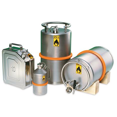 Edelstahl-Transportkanister, 5 - 20 Liter