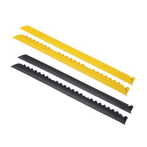 Edge strip, boltless system for welder workstations