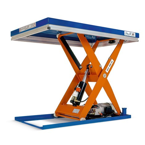 EdmoLift® C Series scissor lift platform, single scissor