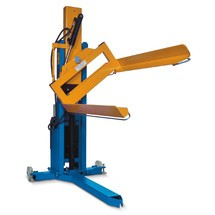 EdmoLift® electro-hydraulic pallet lift with tilt function