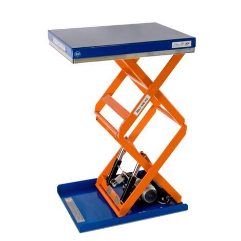 EdmoLift® T-series double-scissor lift table