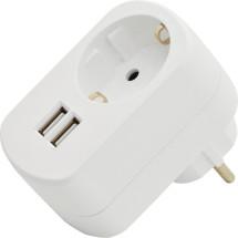 ednet. USB-Ladeadapter