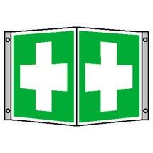 EHBO-teken – Eerste Hulp, hoekbord