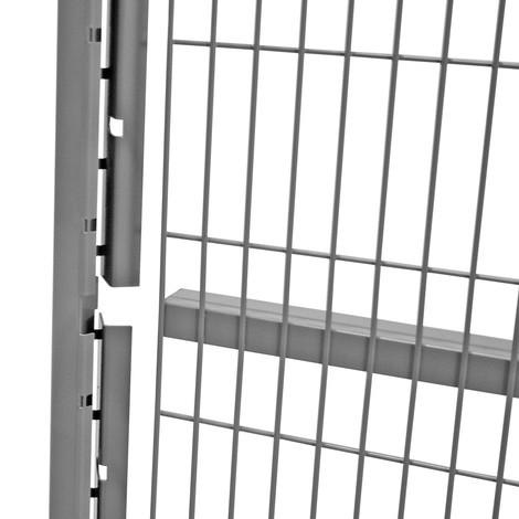 Eindprofiel voor machinebeschermrooster TROAX®